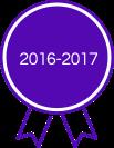 2016-2017 Award - Purple Ribbion