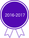 2016-2017 Award - Purple Ribbion